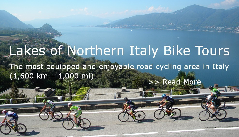 Cycling Tours Northern Italian lakes